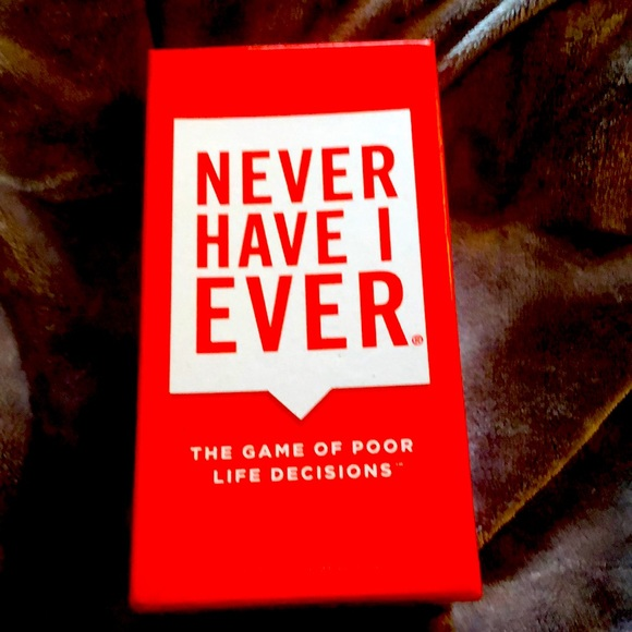 """""""Never have I ever """" the adult card game."""